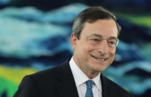 Welcome to the ECB Mario Draghi!
